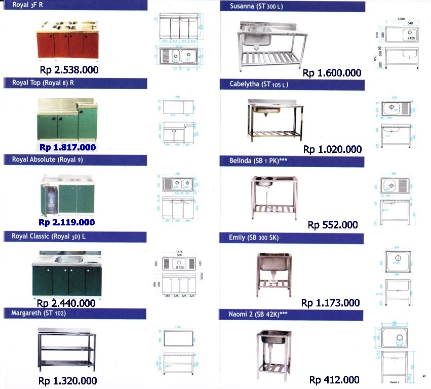Kitchen Set Royal Kitchen-Set-Roya 3 – KITCHEN SET & SINK ROYAL