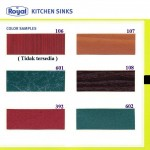 Warna Pilihan Kitchen Set Royal