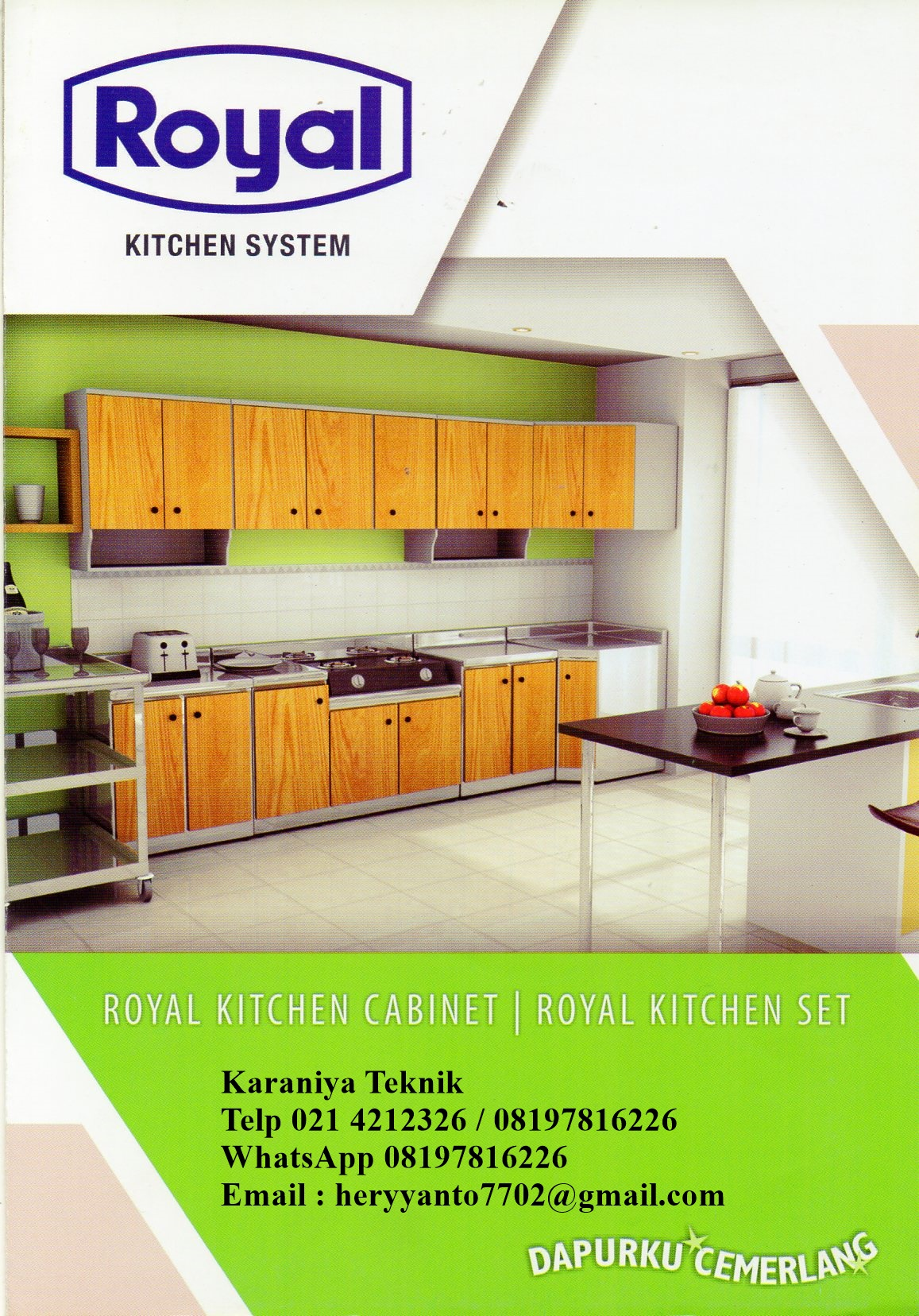 Kitchen Set Royal 3