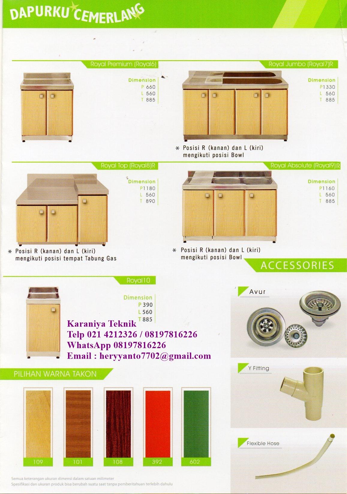 Kitchen Set Royal 4